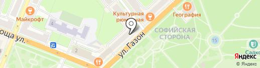 Имидж на карте Великого Новгорода