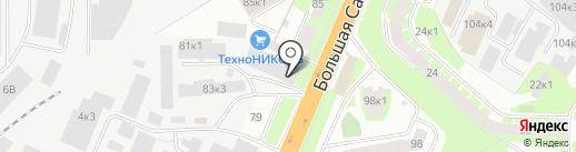 Управление государственной жилищной инспекции Новгородской области на карте Великого Новгорода
