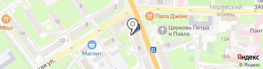 Магазин хозяйственных товаров на карте Великого Новгорода