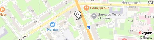 Банкомат, Почта Банк, ПАО на карте Великого Новгорода