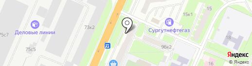 Институт образовательного маркетинга и кадровых ресурсов на карте Великого Новгорода