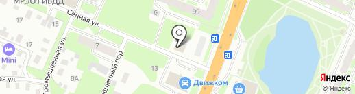 Новотелекс на карте Великого Новгорода