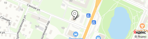 Трейд-Н на карте Великого Новгорода