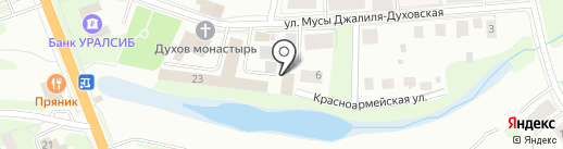 Беатрис на карте Великого Новгорода
