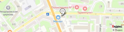 Региональный Центр Документов на карте Великого Новгорода
