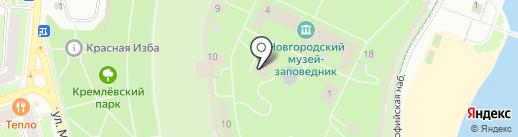 Детский музейный центр на карте Великого Новгорода
