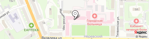 Катарсис на карте Великого Новгорода