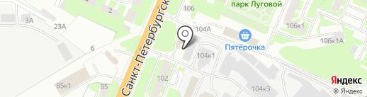 Вкусно есть на карте Великого Новгорода