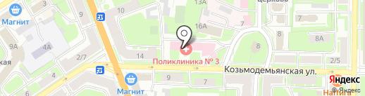 Улыбка на карте Великого Новгорода