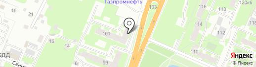 Киммерия на карте Великого Новгорода