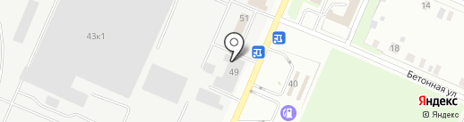 Партнер Профи на карте Великого Новгорода