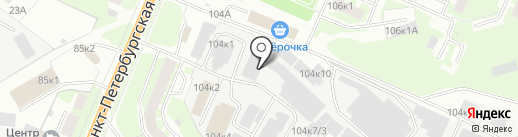 Энергия на карте Великого Новгорода