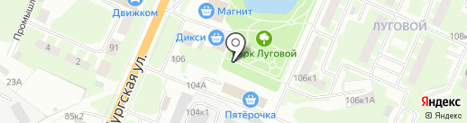 Дикси на карте Великого Новгорода