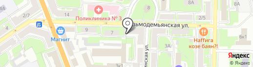 VarVara на карте Великого Новгорода
