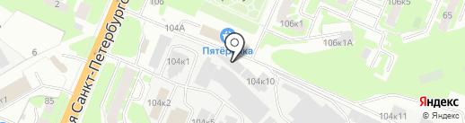 Оптовый магазин дешевых продуктов на карте Великого Новгорода