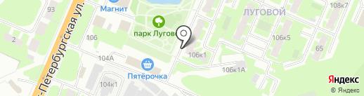 ЭкиВоки на карте Великого Новгорода