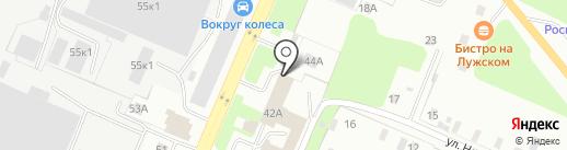 ПРОФЕССИОНАЛ на карте Великого Новгорода