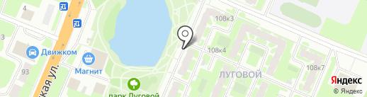 Красное & Белое на карте Великого Новгорода