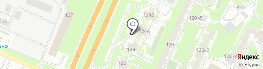 Вербена на карте Великого Новгорода