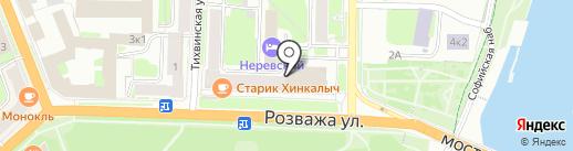 Gamma на карте Великого Новгорода
