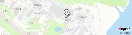 Адепт на карте Великого Новгорода
