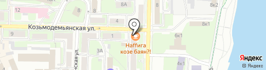 ЛАВАНДА & ТИМЬЯН на карте Великого Новгорода