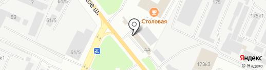 Магазин автозапчастей для американских грузовиков на карте Великого Новгорода