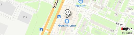 ДорСтрой на карте Великого Новгорода