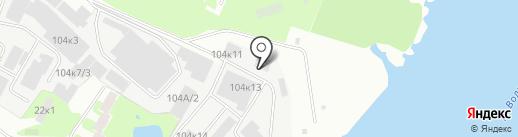 Атланта на карте Великого Новгорода