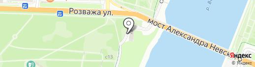 Полетели на карте Великого Новгорода