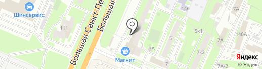 Народная аптека на карте Великого Новгорода
