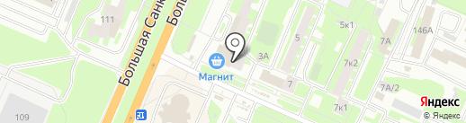 Банкомат, БИНБАНК кредитные карты на карте Великого Новгорода