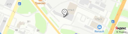 СпецСнаб на карте Великого Новгорода
