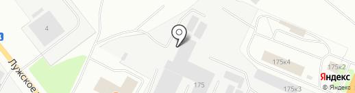 МВ-Авто на карте Великого Новгорода