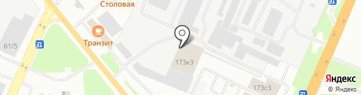 Авто-МН на карте Великого Новгорода