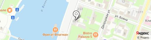 CNI на карте Великого Новгорода