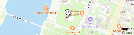Городской центр культуры и досуга им. Н.Г. Васильева на карте Великого Новгорода