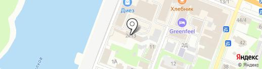 KumArt на карте Великого Новгорода
