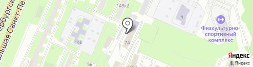 Адвокатский кабинет Евстафьева Г.Б. на карте Великого Новгорода