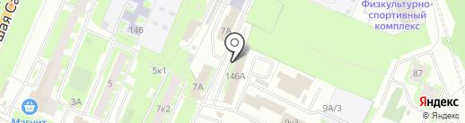 Новгородский межмуниципальный отдел МВД России на карте Великого Новгорода