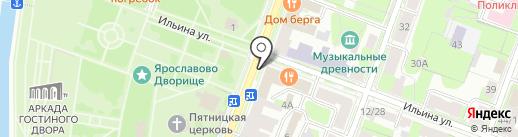 Нью Лэвел на карте Великого Новгорода