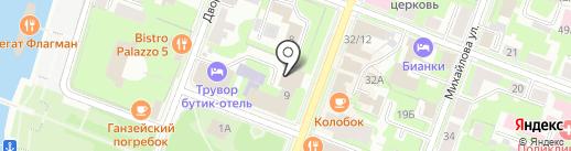 Банкомат, Россельхозбанк на карте Великого Новгорода