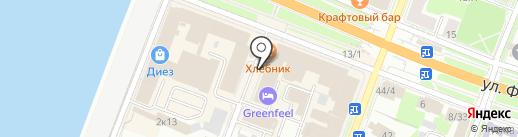 АВТОШКОЛА ТАКСОПАРК на карте Великого Новгорода