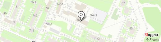 Техноснаб на карте Великого Новгорода