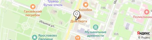 Радиочастотный центр Северо-Западного федерального округа на карте Великого Новгорода