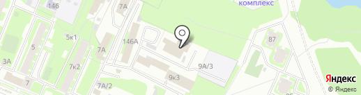 Медком-МП на карте Великого Новгорода