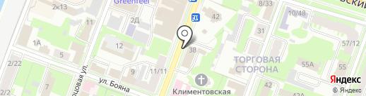 Десерт-бар на карте Великого Новгорода