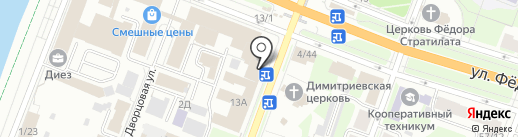 Гагаринский на карте Великого Новгорода