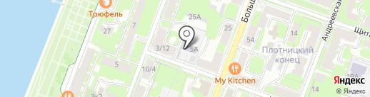 Новгородский областной центр приемных семей на карте Великого Новгорода