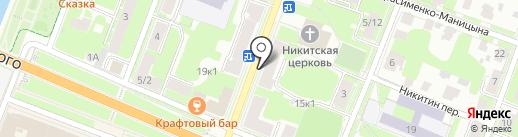 БЫСТРЫЙ ЗАЁМ на карте Великого Новгорода